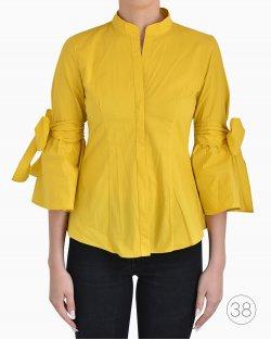 Camisa Feminina Carolina Herrera Amarela