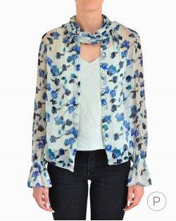 Camisa de Seda Diane Von Furstenberg Estampada