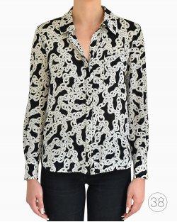 Camisa Diane Von Furstenberg de Seda Estampada