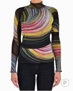 Blusa Diane Von Fustenberg Estampada