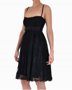 Vestido Dolce & Gabbana de Renda Preto