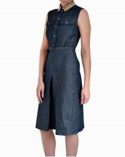 Vestido Jeans Gucci Azul