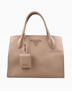 Bolsa Prada Shopping Monochrome Rose