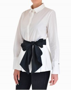 Camisa Feminina Carolina Herrera Branca