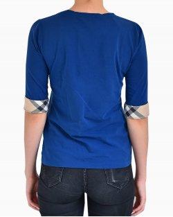 Blusa Burberry Azul Marinho