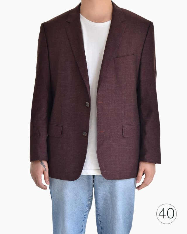 Blazer Hugo Boss bordô