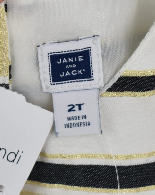 Vestido Janie and Jack listrado