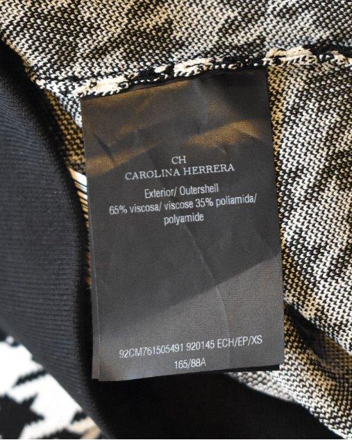 Saia Carolina Herrera Pied de Poule
