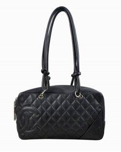 Bolsa Chanel Cambon preta