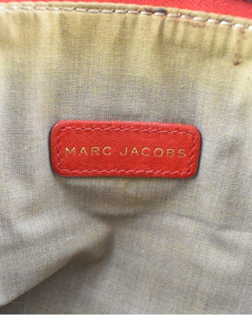 Clutch Marc Jacobs de Couro Vermelho
