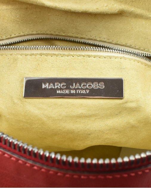 Bolsa Marc Jacobs de Couro Vermelho