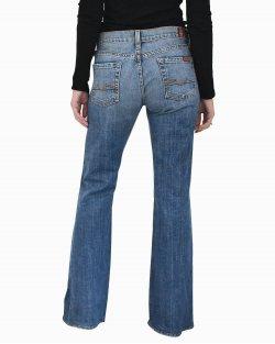 Calça Jeans 7 For All Mankind Azul Médio