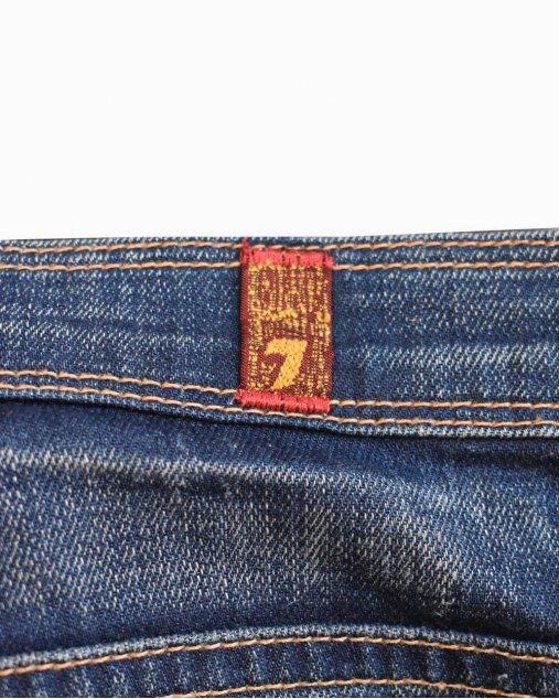 Calça Jeans 7 For All Mankind Azul Escuro