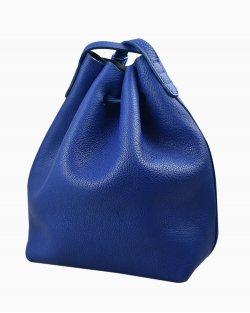Bolsa transversal Mansur Gavriel de couro azul
