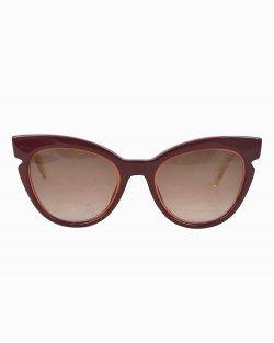 Óculos escuro Fendi recorte V