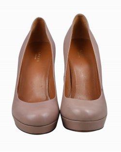 Sapato Gucci couro rose