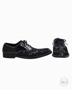 Sapato Oxford Dolce & Gabbana paetê