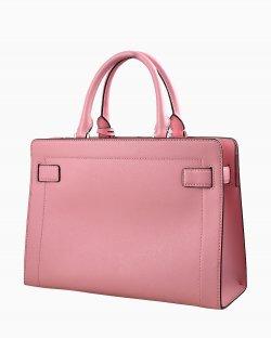 Bolsa Michael Kors de mão rosa