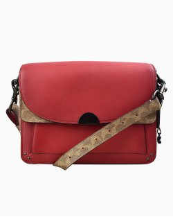 Bolsa Coach vermelha