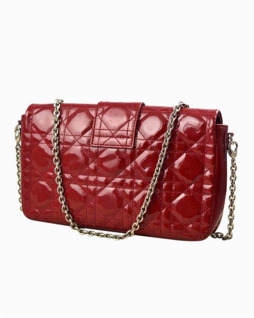Bolsa Christian Dior Miss Lock vermelha