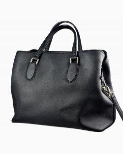 Bolsa Kate Spade em couro preto