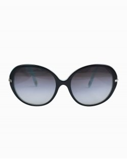 Óculos de sol Tiffany & Co azul e preto TF 4060-B