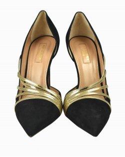 Sapato Aquazzura Minou 105 Preto