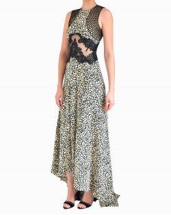 Vestido Longo Stella McCartney Animal Print