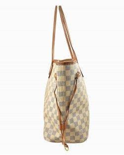 Bolsa Louis Vuitton Neverfull MM Damier Azur