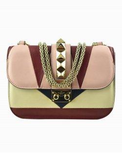 Bolsa Valentino Rockstud Glam Small Multicolor