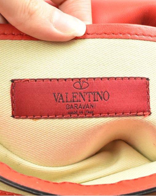 Bolsa Valentino Va Va Voom de Couro Vermelho