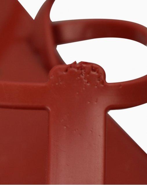 Rasteira Balmain Jelly Vermelha