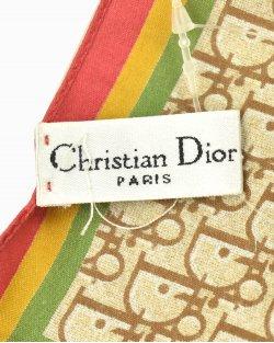 Lenço Christian Dior Coleção Rasta Vintage