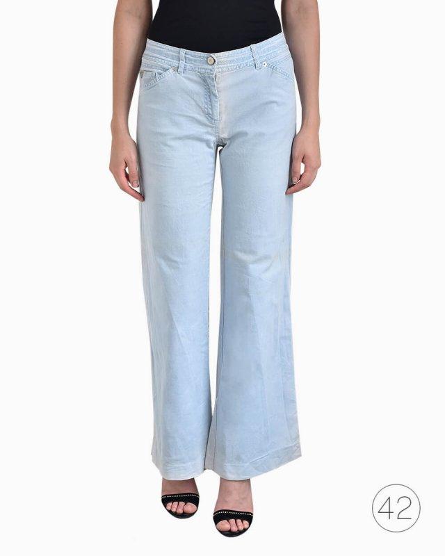Calça Jeans Weekend Max Mara Azul Clara