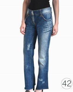 Calça Jeans Dolce & Gabbana Azul Escuro
