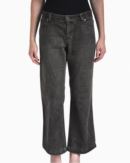 Calça Jeans Weekend Max Mara Preta