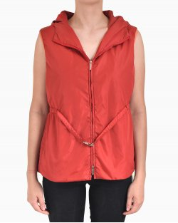 Colete Max Mara de Nylon Vermelho
