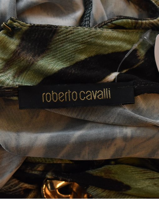 Vestido Roberto Cavalli Estampado