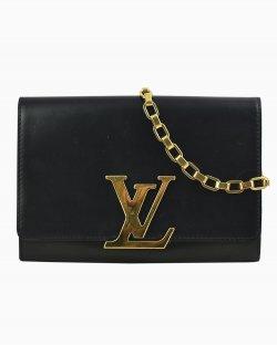 Bolsa Louis Vuitton Louise couro preto