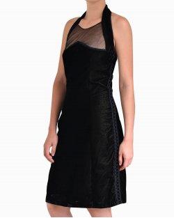 Vestido Christian Dior de Veludo Preto