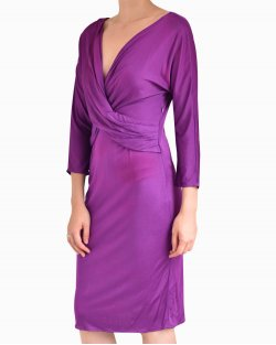 Vestido Christian Dior Midi Violeta