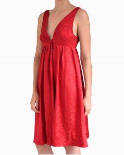 Vestido Emporio Armani de Seda Vermelho