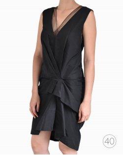 Vestido Marc Jacobs de Seda Preto