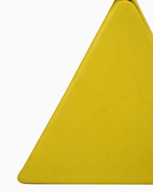Bolsa Saint Laurent pyramid box amarela