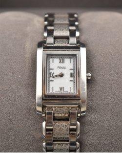 Relógio Fendi Silver de Prata