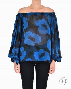 Blusa Yves Saint Laurent Estampada
