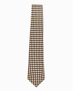 Gravata Christian Dior seda estampada