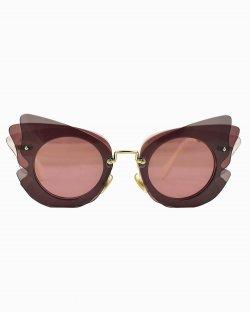Óculos de sol Miu Miu amora recortes