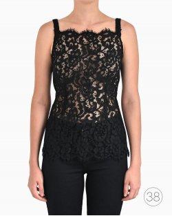 Blusa de Renda Dolce & Gabbana Preta
