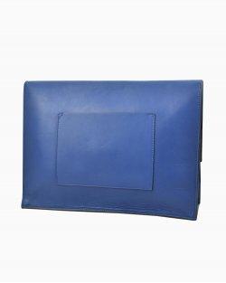 Clutch Proenza Schouler de Couro Azul